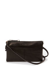 Sauvage Multi functional wallet with shoulderstrap - Black