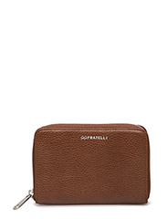 Romance ziparound wallet - BRANDY