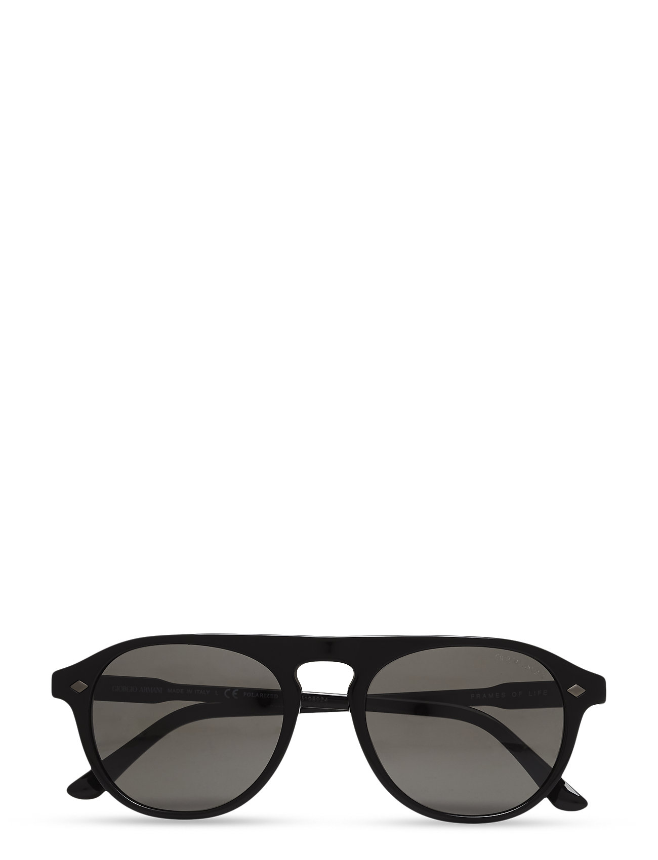 Frames Of Life Giorgio Armani Sunglasses Solbriller til Herrer i Sort