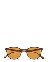 Metal Frame Sunglasses - MATTE BLACK