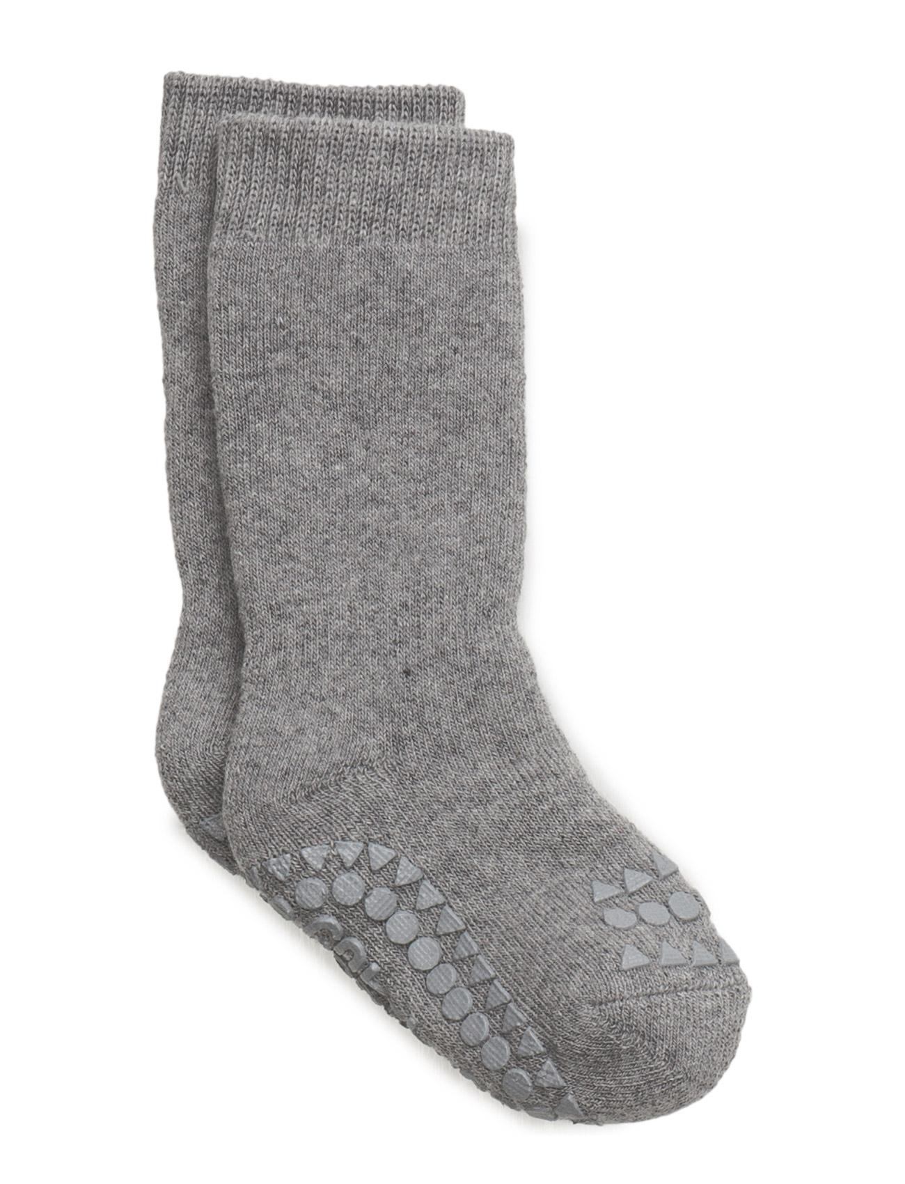 Non-Slip Socks GoBabyGo Strømper & Strømpebukser til Børn i Grey Melange
