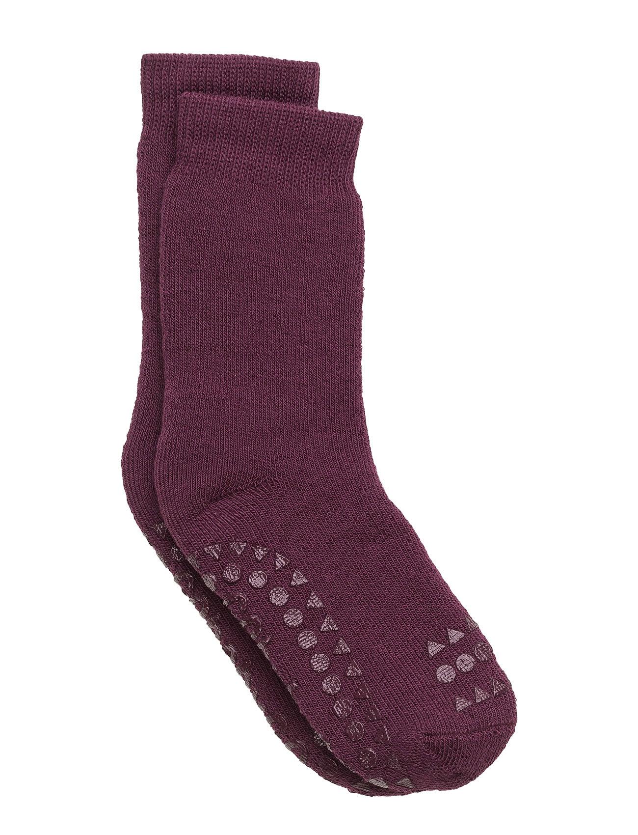 Non-Slip Socks GoBabyGo Strømper & Strømpebukser til Børn i Blomme