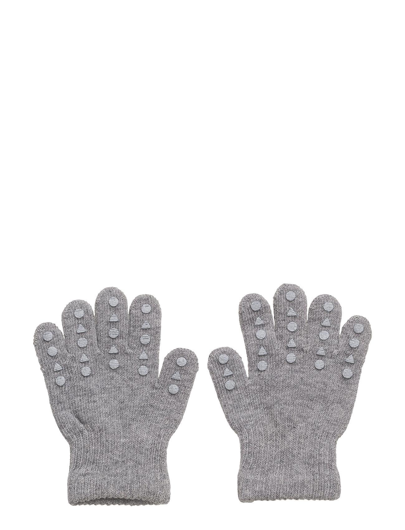 Grip Gloves Gobabygo Handsker til Børn i Grey Melange