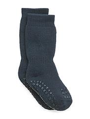Non-slip socks - PETROLEUM BLUE