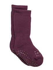 Non-slip socks - PLUM