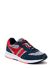 Samurai Liberty - Navy/Red