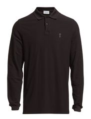 Extra Dry long sleeve polo shirt - Black