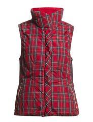 Reversible waistcoat - Red