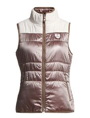 Micro waistcoat - Taupe