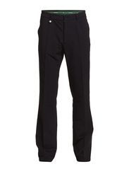 4-way stretch brushed trousers - Navy