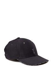 Cotton twill cap - Navy