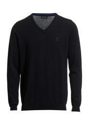 Classic Pima Cotton Pullover - Navy