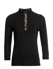 DC Pique 3/4 Sleeve Polo - Black