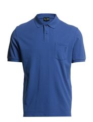 THE CLASSIC PIQUÉ POLO (cotton) - Henley Blue