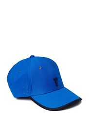Cotton Twill Sunglasses Holder Cap - Henley Blue