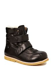Boot w/velcro - Black