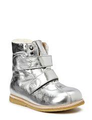 Boot w/velcro - Silver