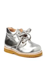 Boot w/laces - Silver