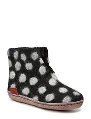 Dotted Boot Junior - Black Spot
