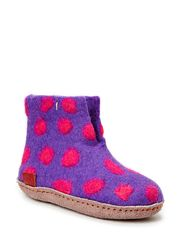 Dotted Boot Junior - PURPLE SPOT