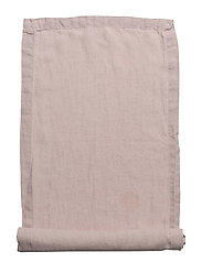 Runner Washed Linen - MISTY PURPLE