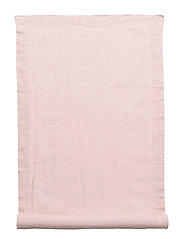 Runner Washed Linen - PINK LILAC