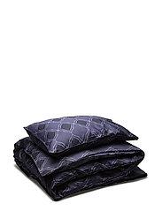 Bed Set Satin Nadja - MIDNIGHT BLUE