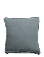 Cushion Cover Washed Linen - MISTY PETROL