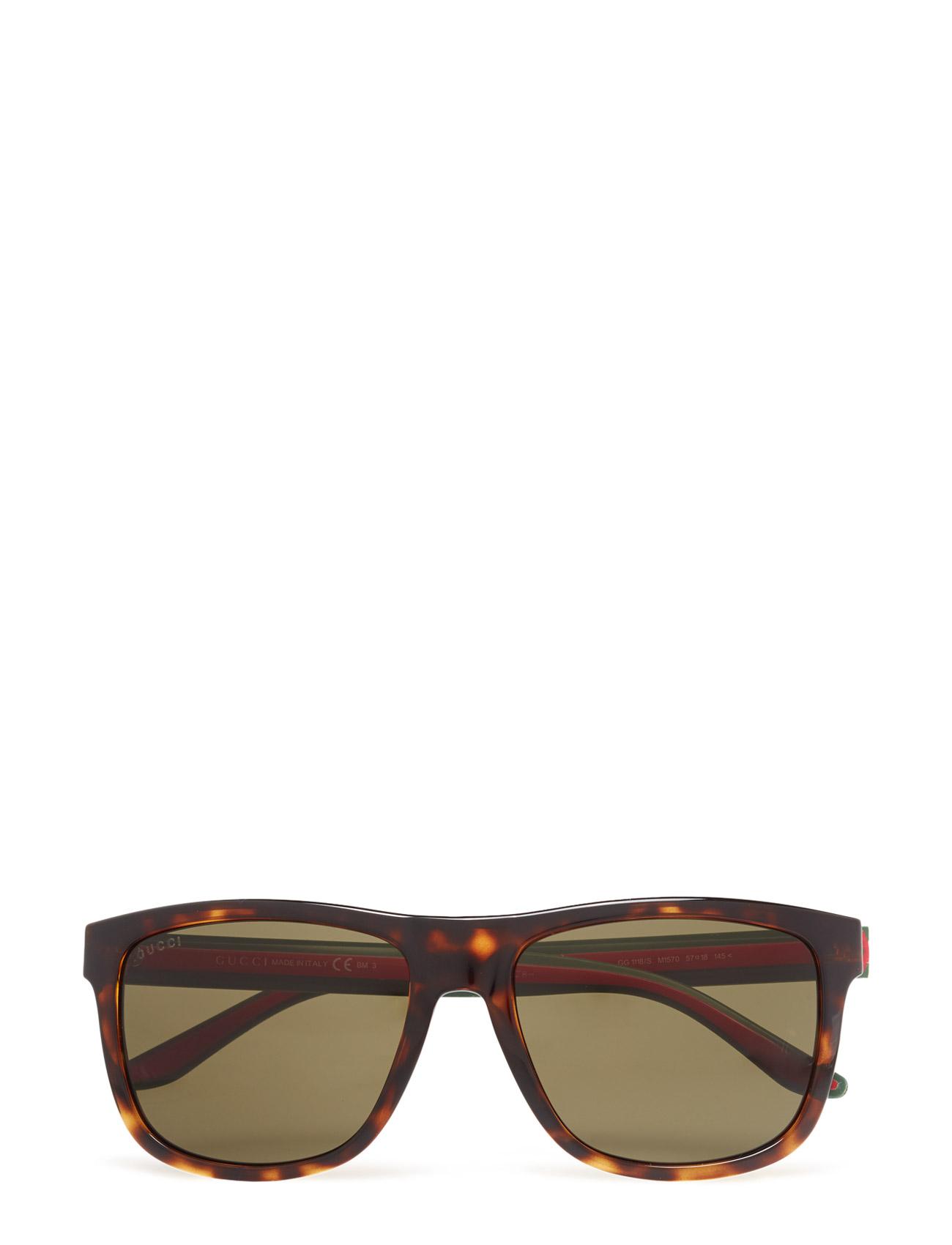 7bf265137fe7 Megatuffa Gg 1118 S Gucci Sunglasses Solglasögon till Män till ...