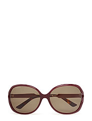 GG0076S - BURGUNDY-GOLD-GREEN