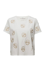 SS RN LIPS T-SHIRT - TRUE WHITE