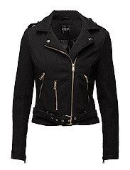 MORGANA JACKET - JET BLACK
