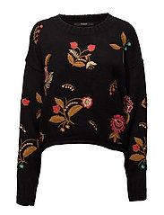 LS RN DARIA SWEATER - JET BLACK