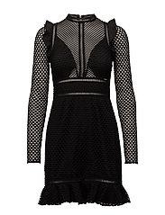 ACQUELINE DRESS - JET BLACK