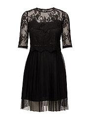 ABELLE DRESS - JET BLACK