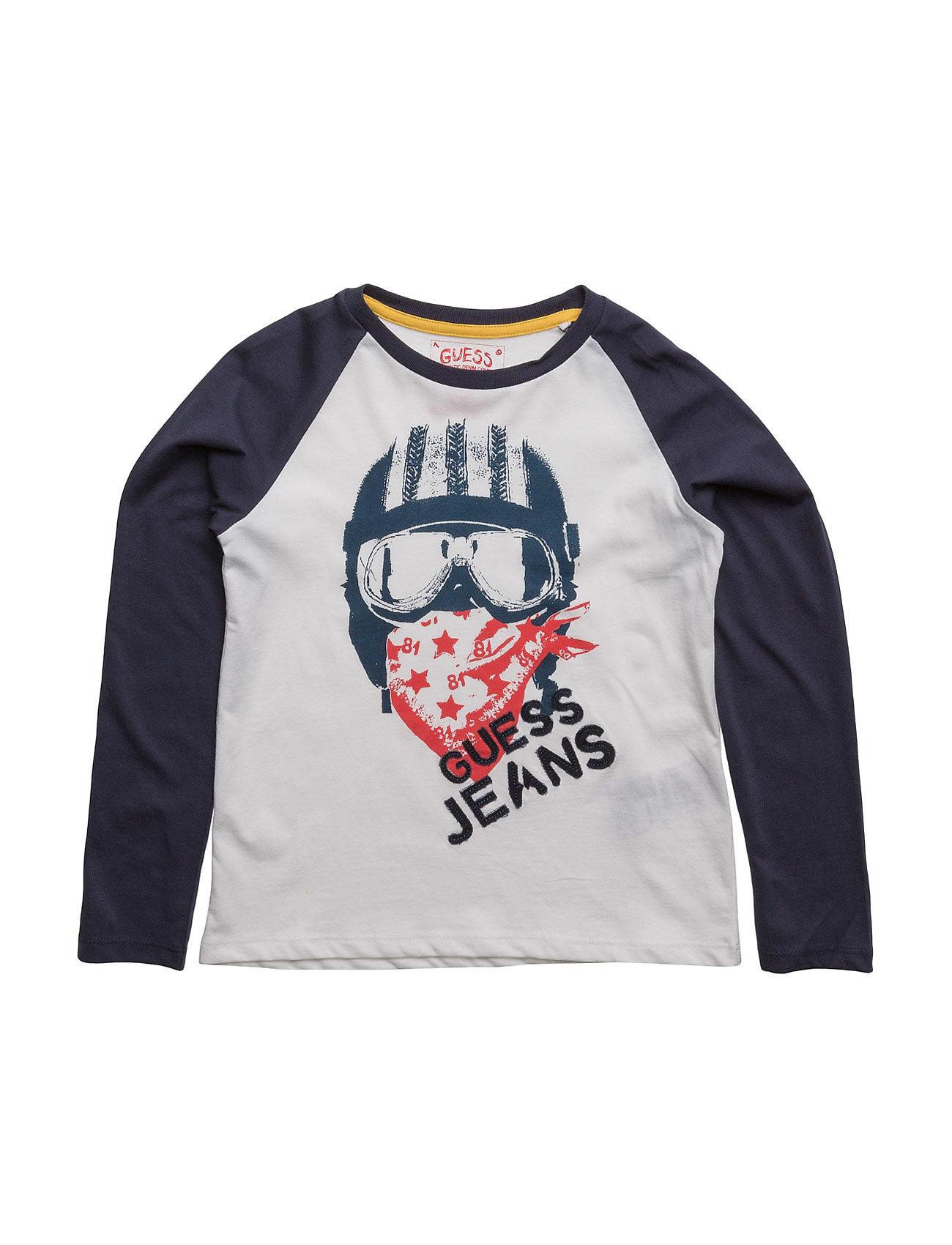 T-Shirt GUESS T-shirts til Piger i Ægte hvid
