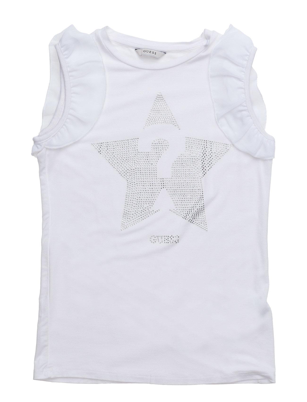 Sl T-Shirt GUESS Ærmeløse til Børn i