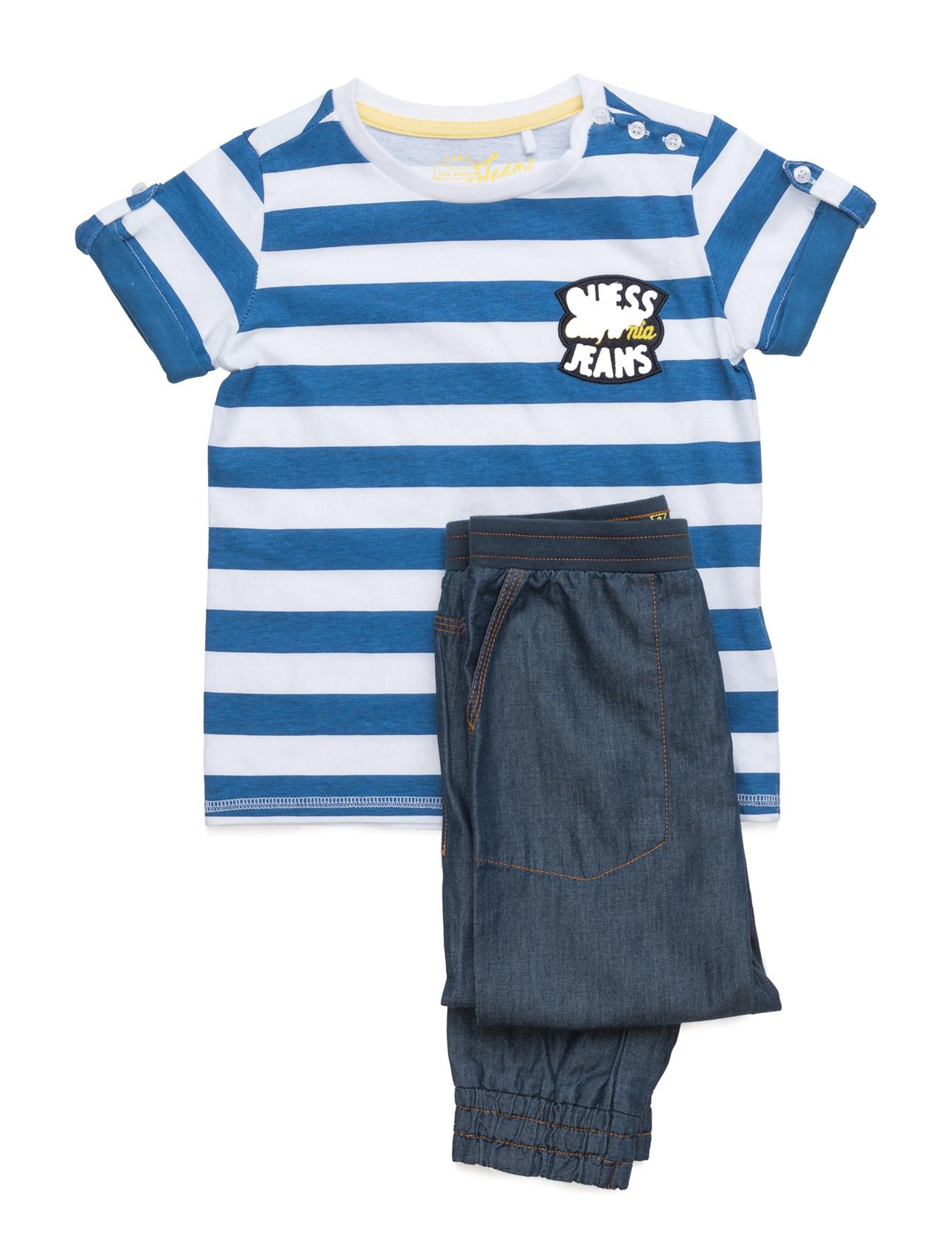 Set T-Shirt ? GUESS  til Børn i Bleu