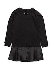 SL DRESS - NOIR/JET BLACK A996