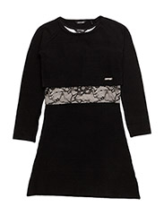 LS DRESS - NOIR/JET BLACK A996