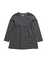 LS DRESS - MEDIUM CHARCOAL HEAT