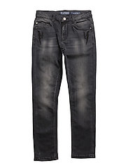 SKINNY DENIM - STONE WASHED BLAC