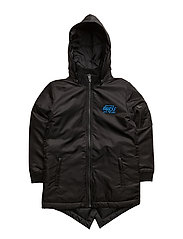 LS PADDED HODDIE JACKET - JET BLACK
