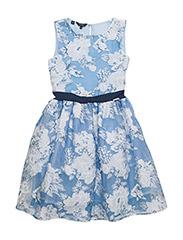 SL DRESS - PRETTY FLOWER GRE