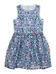 SL DRESS - LIGHT BLUE FLOWER