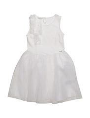 SL DRESS - OPTIC WHITE