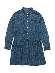 DRESS - BLUE FLOWER