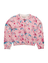LS SWEATER - FLOWER PINKY PRIN