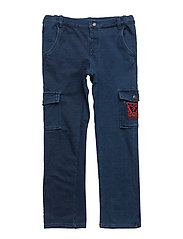 KNIT DENIM PANTS - MEDIUM KNIT DENIM