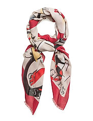 OT COORDINATED SCARF - RED
